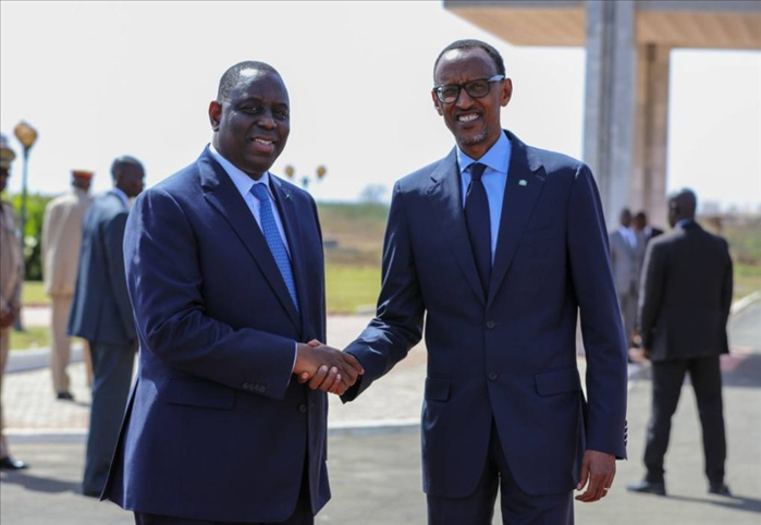 Le Président Macky Sall se rend à l'investiture de Paul Kagamé