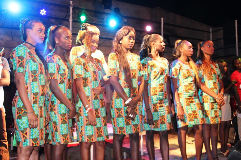 Election Miss Casamance, que des gamines