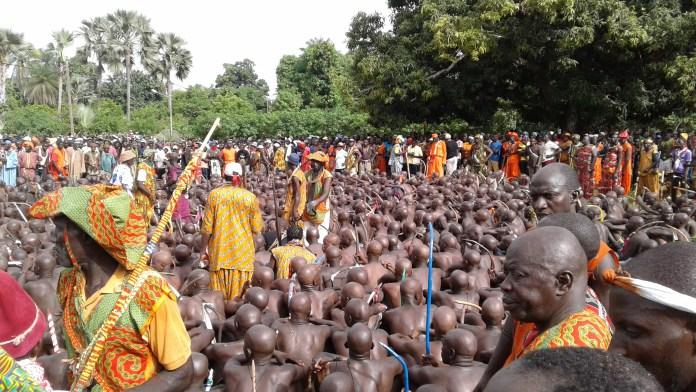 Casamance:  les jeunes du village de Mandégane enfin dans le bois sacré