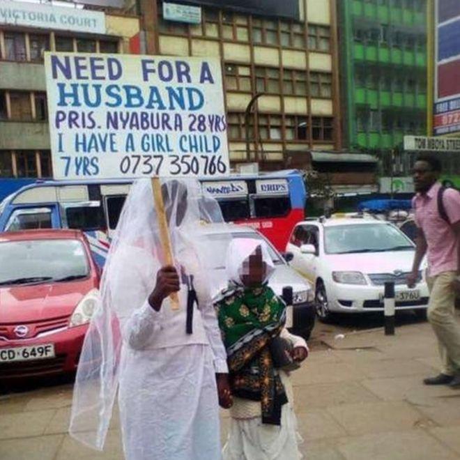 Une Kenyane à la recherche d'un mari