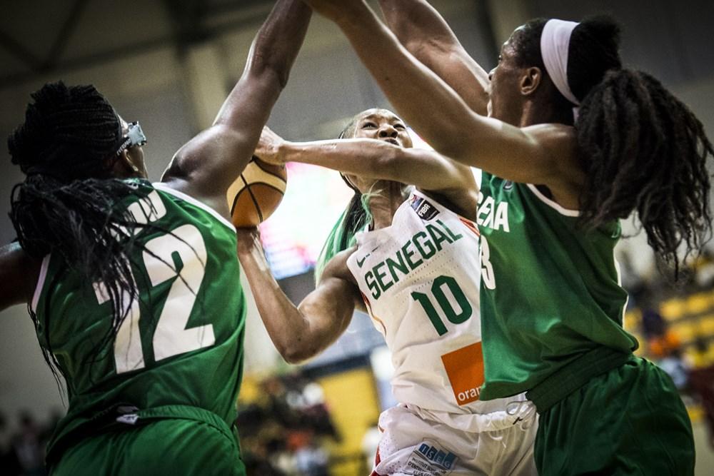Afrobasket Féminin : le Nigéria barre le Sénégal  (54-58)