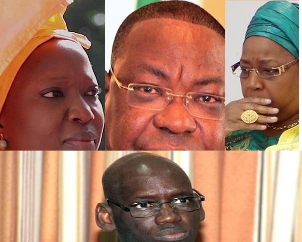 Bye bye: Mankeur Ndiaye, Eva Marie Coll Seck,  Viviane Bampassy, Khadim Diop...
