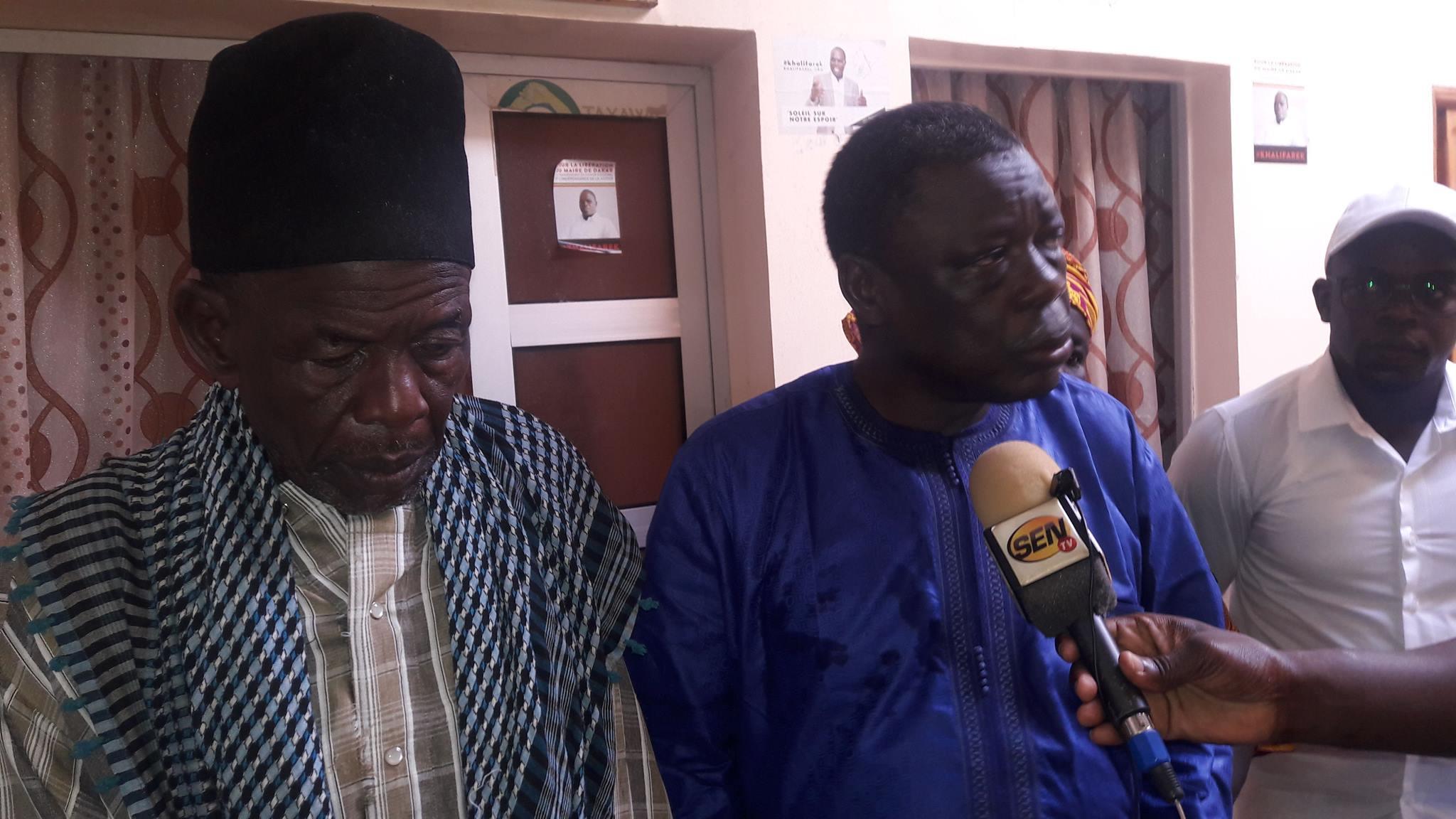 Me Ousmane Seye depuis le domicile de Khalifa Sall: « je bannie la médisance, la haine et la méchanceté »