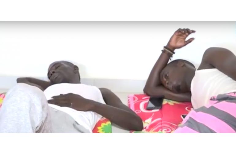 Gréve de la faim: Omar Sall, le jeune frère Khalifa Sall évacué au SAMU municipal