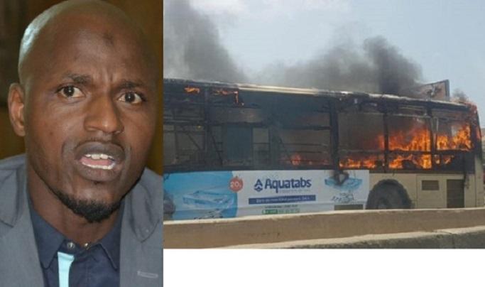 Ibrahima Pouye porte parole de l'Apr : « ceux qui ont incendié le bus, ont déshonoré Grand Yoff »