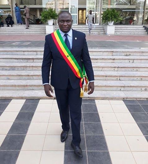 Toussaint Manga, nouveau député