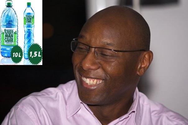 """Eugène N'diaye DG de la société """"la Casamançaise"""" : « l'eau minérale a baissé de 20 à 30% grâce à nous »"""