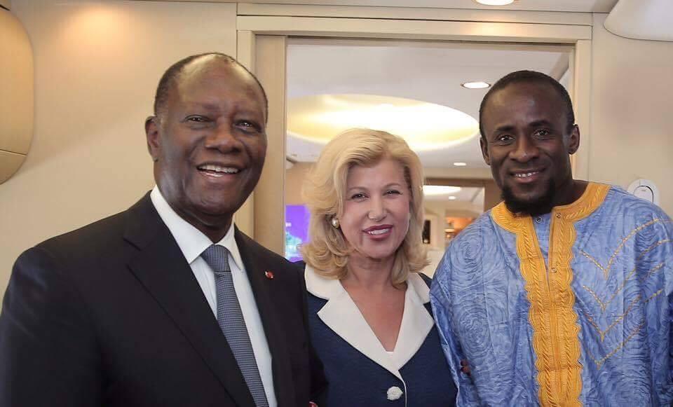 Portugal: le Président Ouattara reçoit le footballeur ivoirien Seydou Doumbia