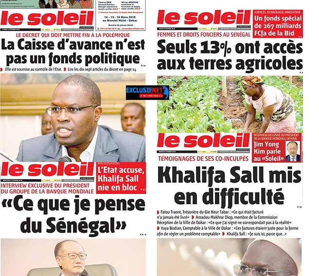 """Le Quotidien le Soleil"""": une nouvelle action de propagande pour l'APR... ?"""