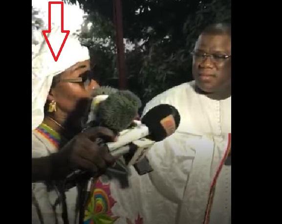 Mais qui est cette dame qui a osé arracher les micros à Baldé ?