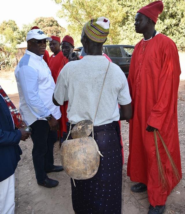 Abdoulaye Baldé aux journées Culturelles dédiées à Aline Sitéo Diatta