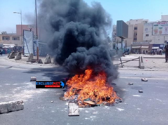 Mort de Fallou SENE : les étudiants se rebellent à Dakar