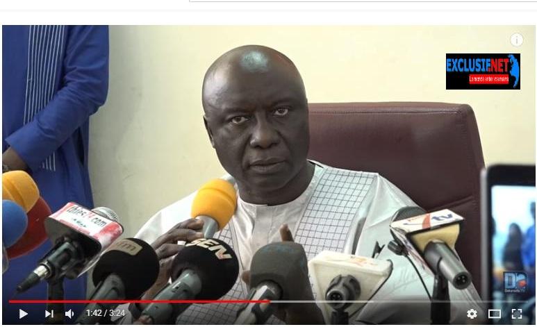 Idrissa Seck à Macky: «C'est la dernière fois que nous tolérons qu'un de nos fils soit assassiné...»