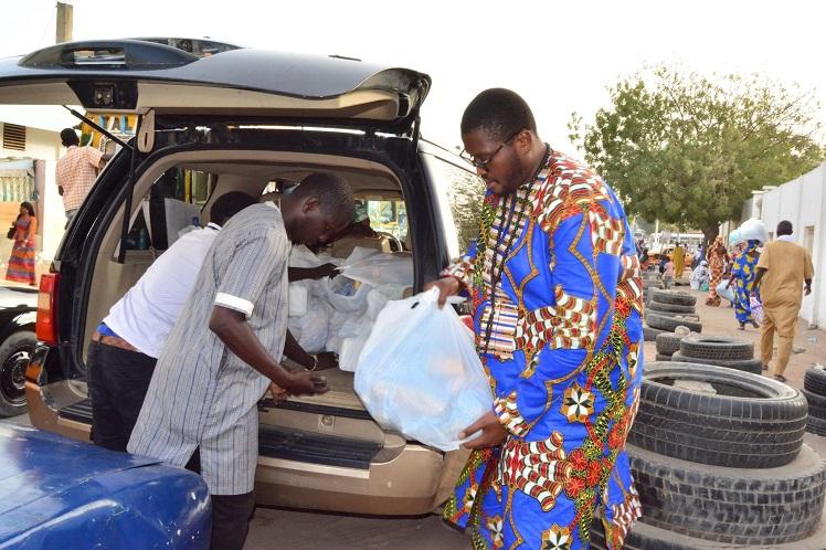 NDOGOU: l'Association Alhamdoulilah sert les hôpitaux,mosquées et Daaras de Dakar
