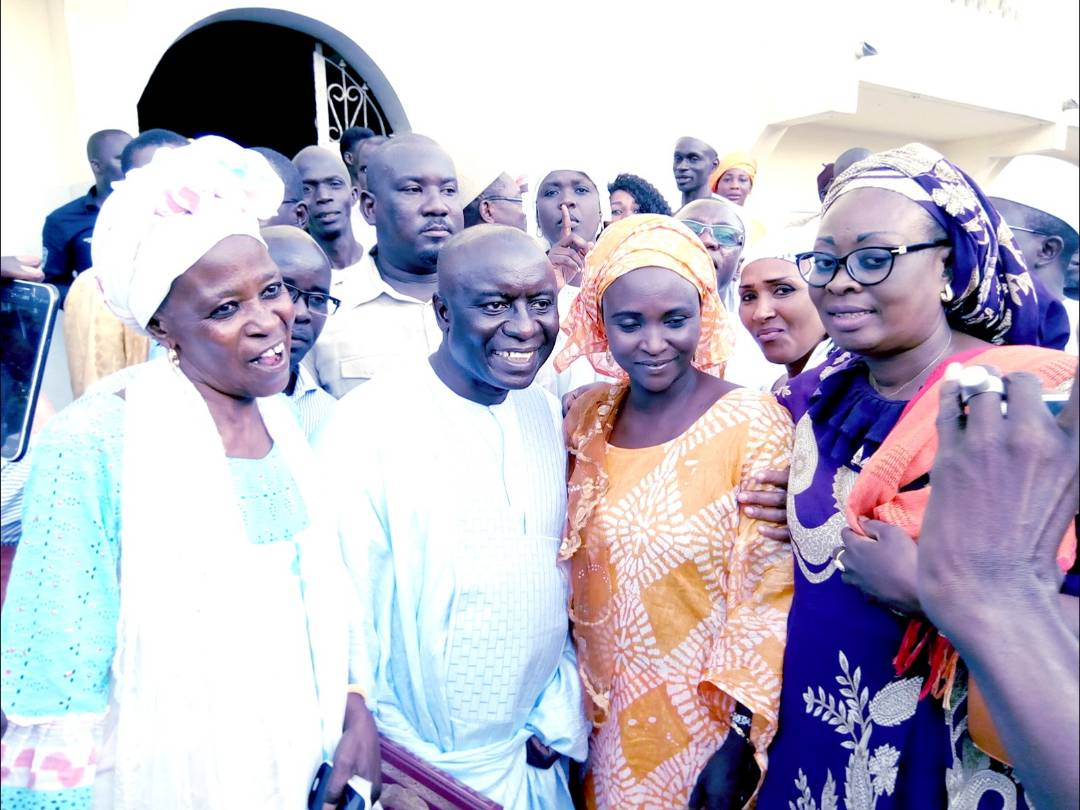 Idrissa Seck: Présentation de condoléances et visites de proximité à Pikine