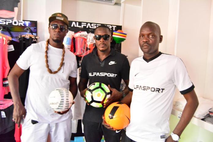 """Dans l'univers du football Sénégalais, la marque """"Alfasport"""" ouvre ses portes à Dakar"""