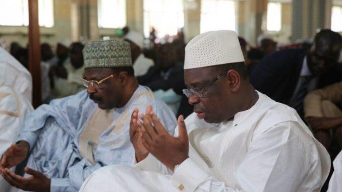 Macky sollicite des prières pour une présidentielle apaisée