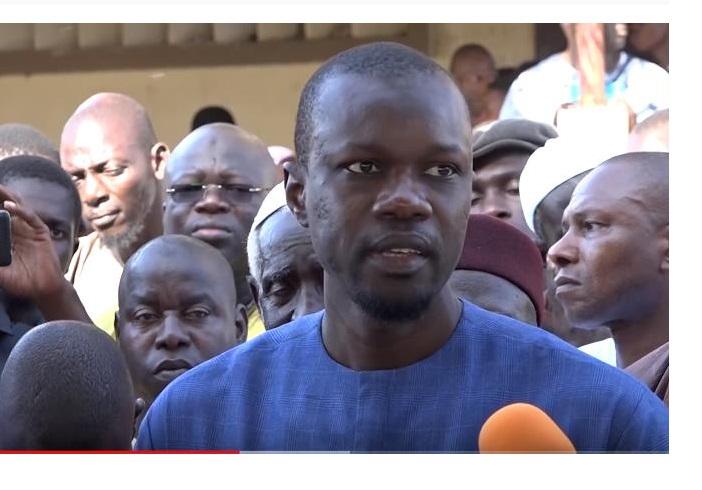 Sonko« Le Sénégal est en train de changer dans le mauvais sens et personne n'est en sécurité dans ce pays »,