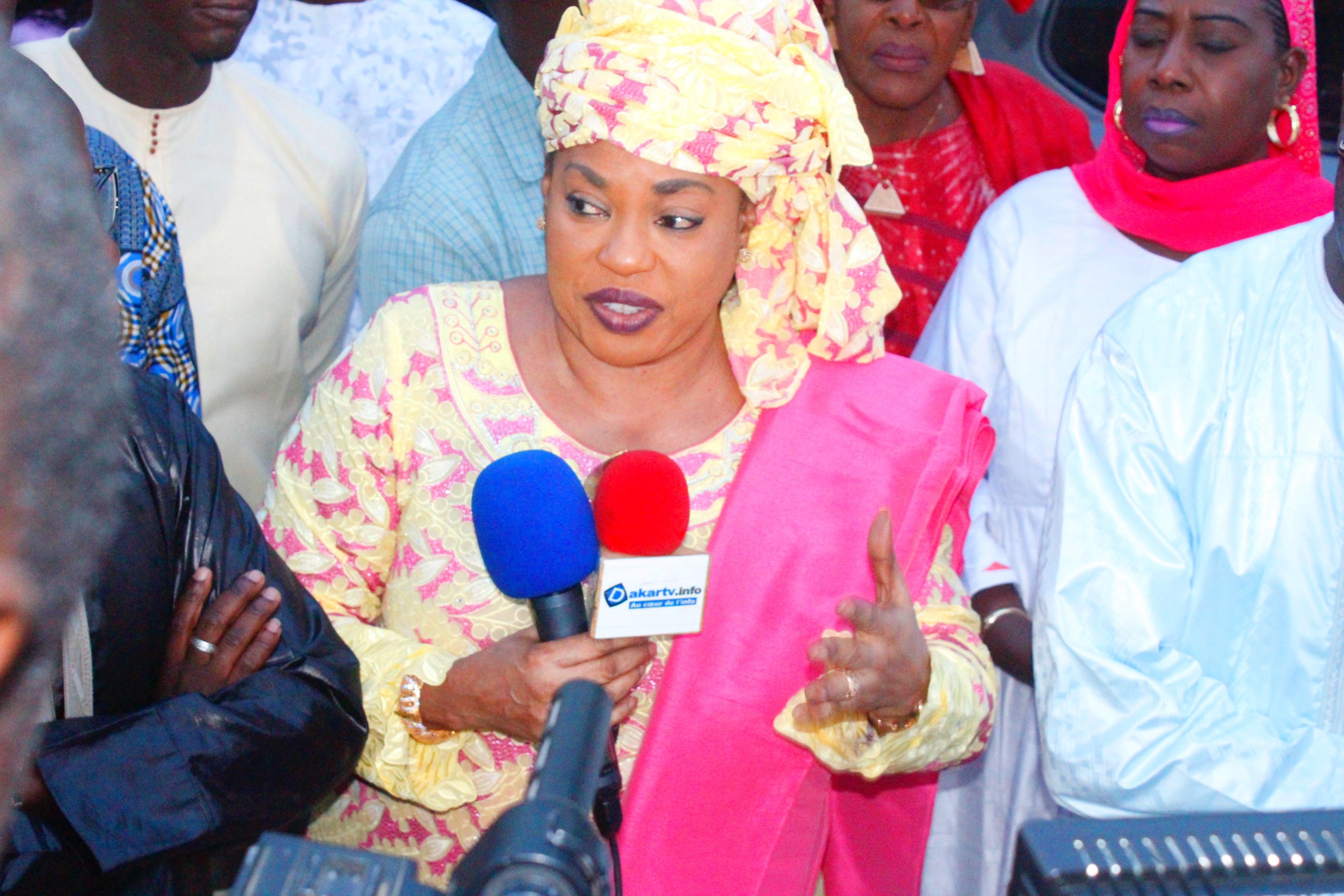 Hann/Bel-Air : La Ministre Ndèye Saly DIOP en mode GAB