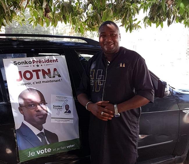 Ziguinchor: Cheikhna Gassama rejoint Sonko et promet une raclée à Macky