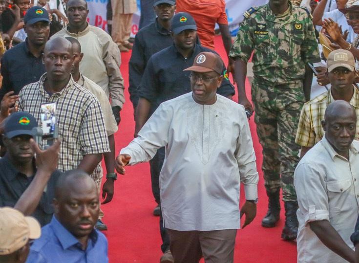 Macky Sall : «Le futur du Sénégal a les yeux de la Casamance »