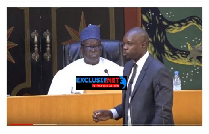 SONKO: «Nous allons dissoudre l'Assemblée nationale »