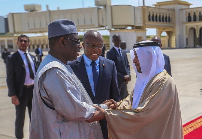 Abu Dhabi: Macky rencontre des hommes d'affaires