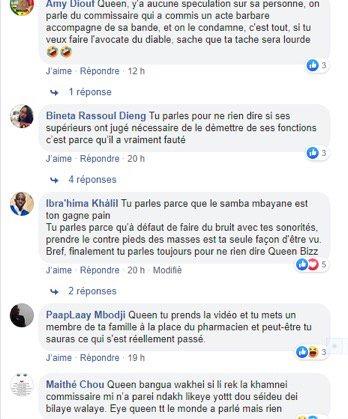 Soutien au commissaire Sangaré: Queen Biz lynchée sur Facebook