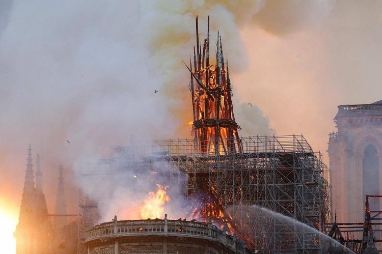 La structure de Notre-dame est sauvée et préservée dans sa globalité