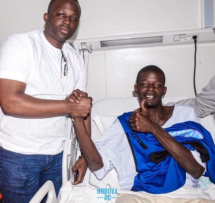 Sadio Mané souhaite évacuer Khadim Ndiaye en Angleterre
