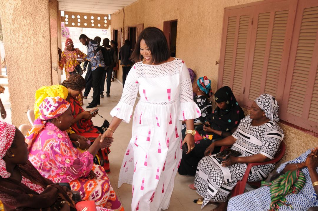 Ramadan 2019: Fatoumata Niang Ba ravitaille plusieurs familles à Grand Yoff