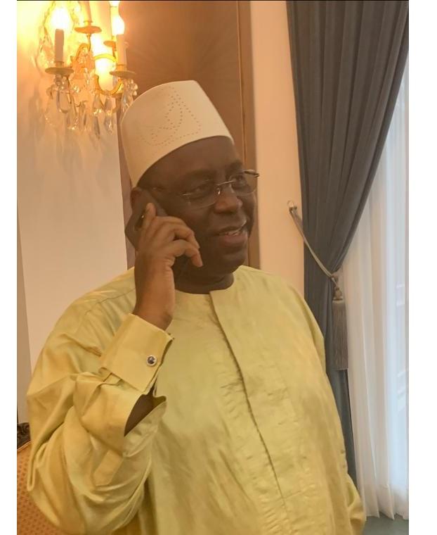 Sénégal-Tanzanie (2-0): Macky Sall a appelé Aliou Cissé