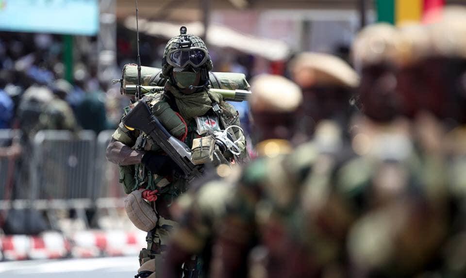 99 nouveaux sergents dans l'armée Sénégalaise