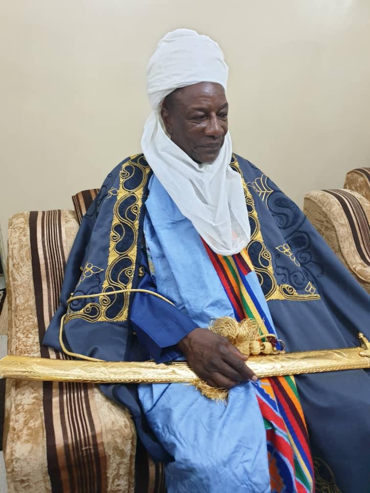 Alpha Condé intronisé roi au Nigéria