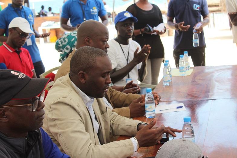 """Les images du lancement du programme """"Dakar Plages Propres"""""""