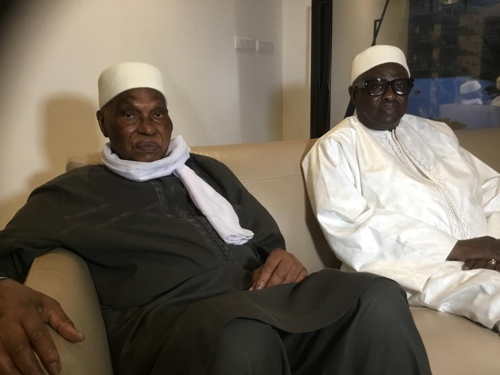 Pape Diop chez Me Abdoulaye Wade