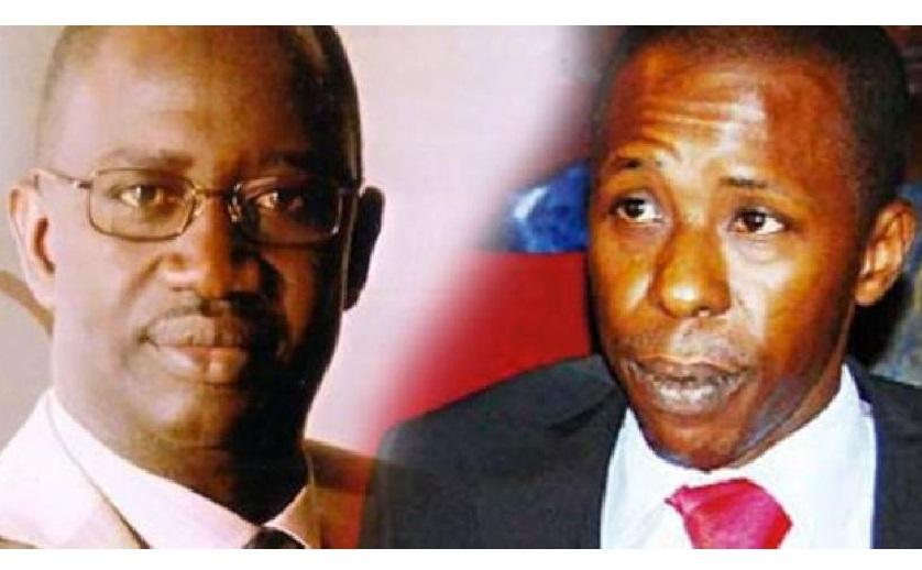 "Cheikh Amar limoge le Directeur du journal "" Direct Info"" Pape Diogaye Faye"