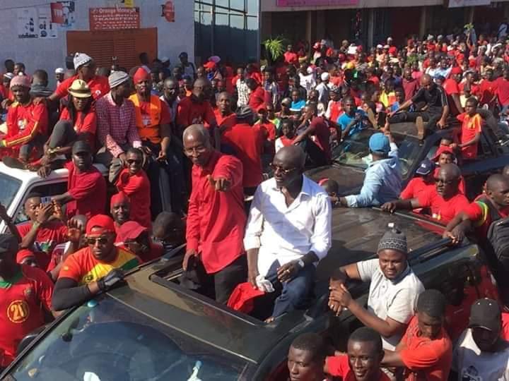 Guinée: Bah Oury l'incontestable leader du peuple au front