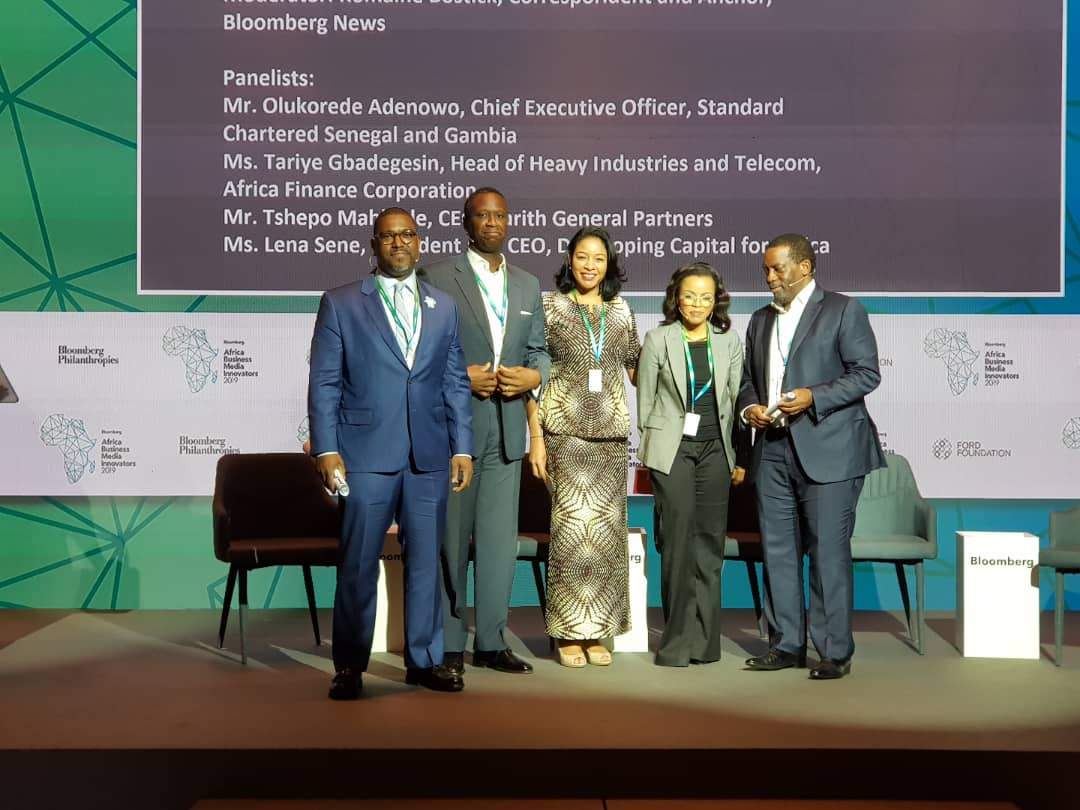 Bloomberg média pour l'Afrique accompagné  (Par Léna Sène de DCA)