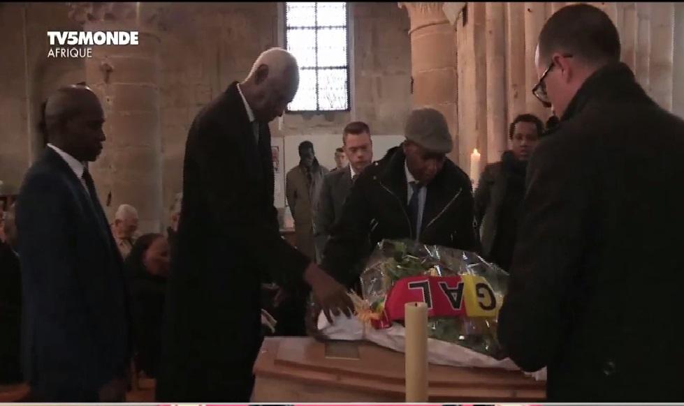 L'hommage d'Abdou Diouf à Colette Senghor