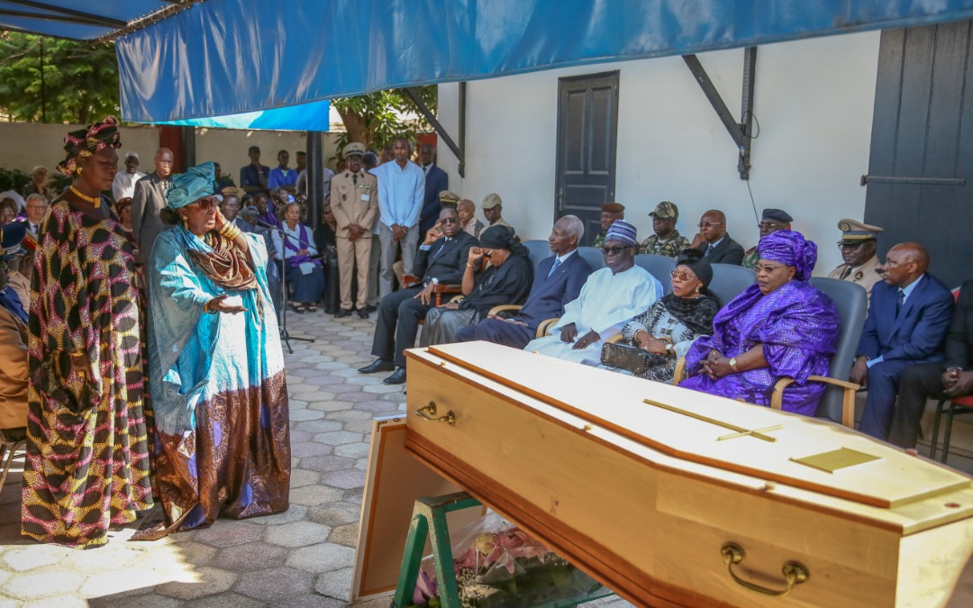 Collette Senghor inhumée au cimetière catholique de Bel-Air (Photos)