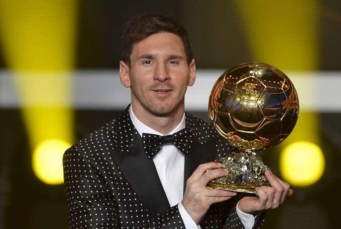 Lionel Messi remporte le sixième Ballon d'Or France Football