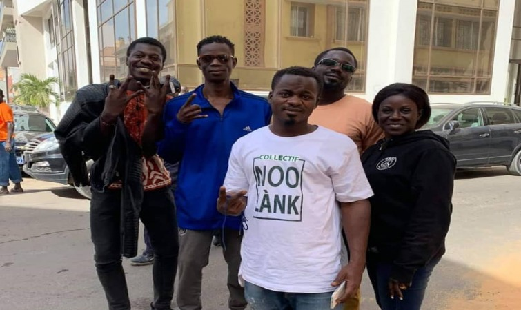 "Les 15 activistes du collectif "" Ñoo Lank"" libérés"