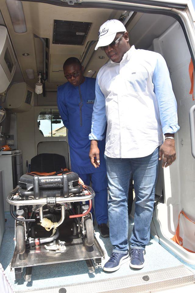 Coronavirus: Baldé offre un important lot de matériels médicaux d'une valeur de 100 millions FCFA aux hôpitaux du Sud