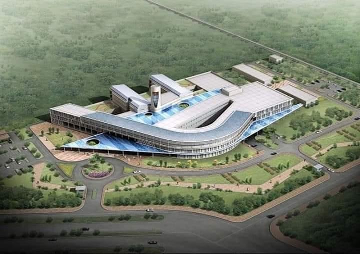 Le futur hôpital International de Dakar
