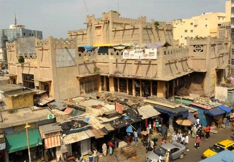 DAKAR:La démolition du marché Sandaga reportée...
