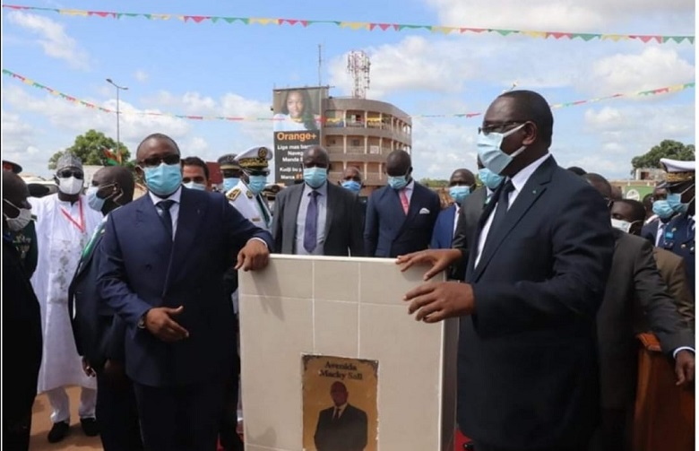 Guinée-Bissau: Caetano Semedo Avenue devient ′′ Macky Sall Avenue ′′