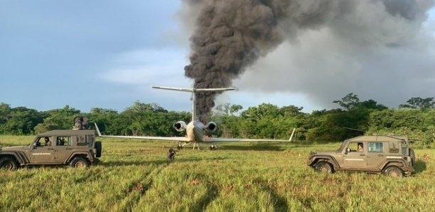Crash d'un avion transportant de la drogue au Guatemala