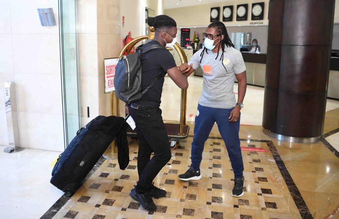 Arrivée des Lions, à l'hôtel Farah de Rabat (Images)