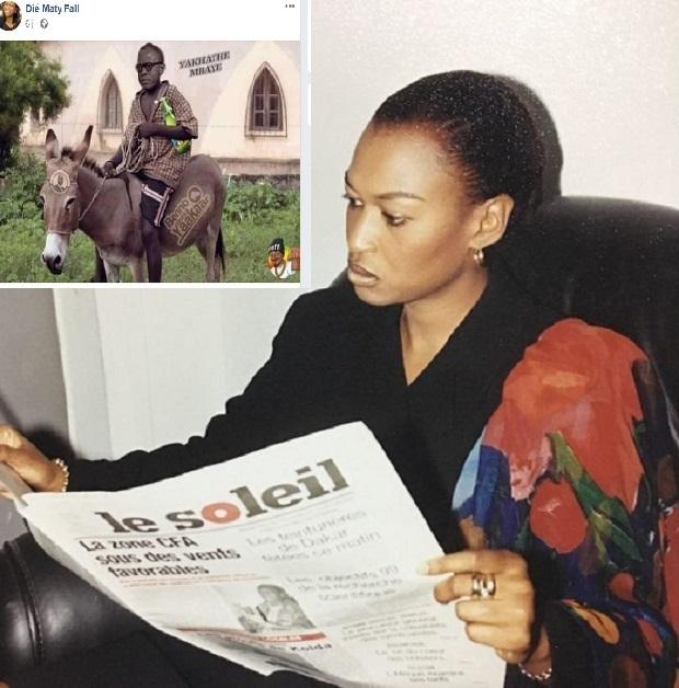 Affaire Dié Maty Fall: La CNTS-Soleil dénonce la publication de cette caricature qui illustre leur DG Yakham Mbaye